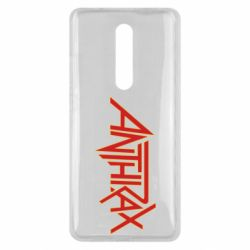 Чехол для Xiaomi Mi9T Anthrax red logo