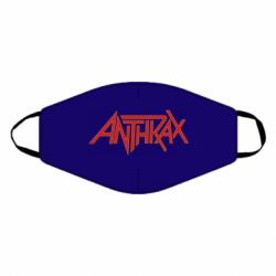 Маска для лица Anthrax red logo