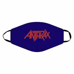 Маска для обличчя Anthrax red logo