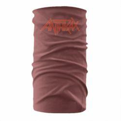 Бандана-труба Anthrax red logo