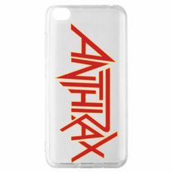 Чехол для Xiaomi Redmi Go Anthrax red logo