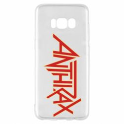 Чохол для Samsung S8 Anthrax red logo