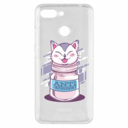 Чехол для Xiaomi Redmi 6 AntiDepressant Cat