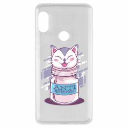 Чехол для Xiaomi Redmi Note 5 AntiDepressant Cat