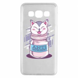 Чехол для Samsung A3 2015 AntiDepressant Cat