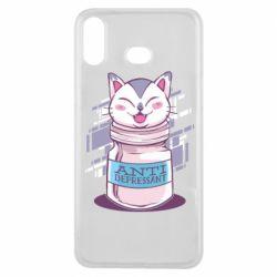 Чехол для Samsung A6s AntiDepressant Cat