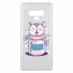 Чехол для Samsung Note 9 AntiDepressant Cat