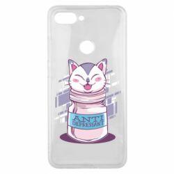 Чехол для Xiaomi Mi8 Lite AntiDepressant Cat