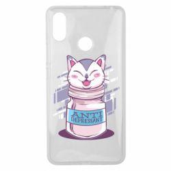 Чехол для Xiaomi Mi Max 3 AntiDepressant Cat