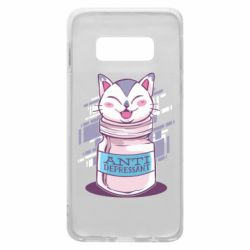 Чехол для Samsung S10e AntiDepressant Cat