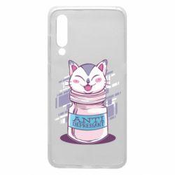 Чехол для Xiaomi Mi9 AntiDepressant Cat