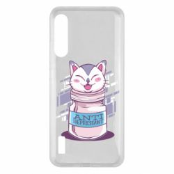 Чохол для Xiaomi Mi A3 AntiDepressant Cat