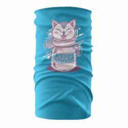 Бандана-труба AntiDepressant Cat