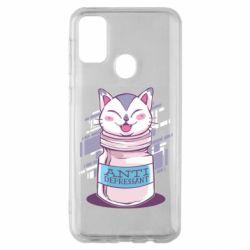 Чехол для Samsung M30s AntiDepressant Cat
