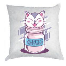 Подушка AntiDepressant Cat