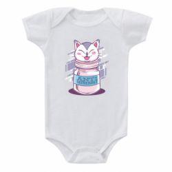 Детский бодик AntiDepressant Cat