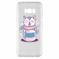 Чехол для Samsung S8+ AntiDepressant Cat