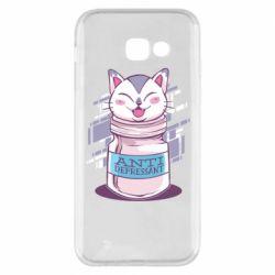 Чехол для Samsung A5 2017 AntiDepressant Cat