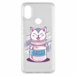 Чехол для Xiaomi Mi A2 AntiDepressant Cat