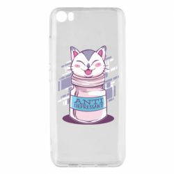 Чехол для Xiaomi Mi5/Mi5 Pro AntiDepressant Cat