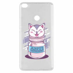 Чехол для Xiaomi Mi Max 2 AntiDepressant Cat