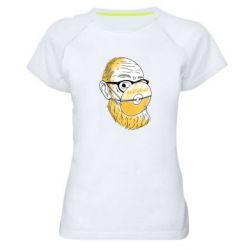 Жіноча спортивна футболка Antivirus