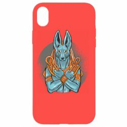 Чехол для iPhone XR Anubis art
