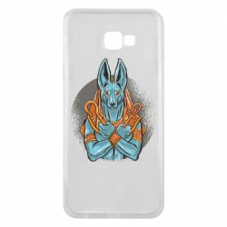 Чехол для Samsung J4 Plus 2018 Anubis art