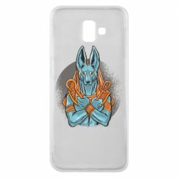 Чехол для Samsung J6 Plus 2018 Anubis art