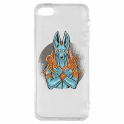 Чехол для iPhone5/5S/SE Anubis art