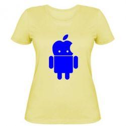 Женская футболка Apdroid - FatLine