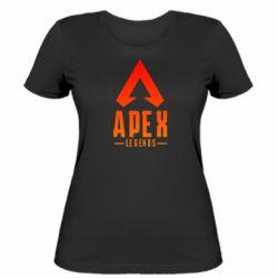 Жіноча футболка Apex legends gradient logo