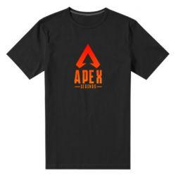 Чоловіча стрейчева футболка Apex legends gradient logo
