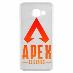 Чохол для Samsung A3 2016 Apex legends gradient logo