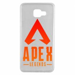 Чохол для Samsung A7 2016 Apex legends gradient logo