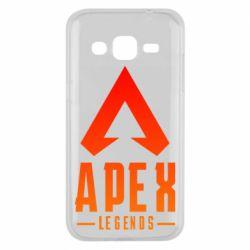 Чохол для Samsung J2 2015 Apex legends gradient logo