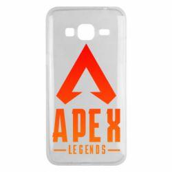 Чохол для Samsung J3 2016 Apex legends gradient logo