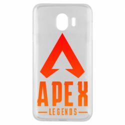 Чохол для Samsung J4 Apex legends gradient logo