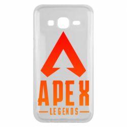 Чохол для Samsung J5 2015 Apex legends gradient logo