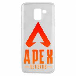 Чохол для Samsung J6 Apex legends gradient logo
