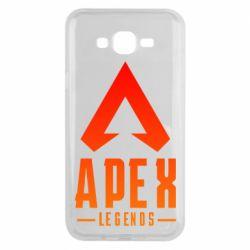 Чохол для Samsung J7 2015 Apex legends gradient logo