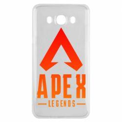 Чохол для Samsung J7 2016 Apex legends gradient logo