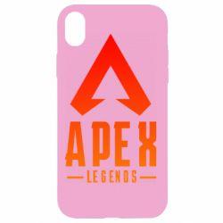 Чохол для iPhone XR Apex legends gradient logo