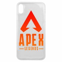 Чохол для iPhone Xs Max Apex legends gradient logo