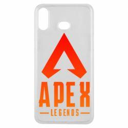 Чохол для Samsung A6s Apex legends gradient logo