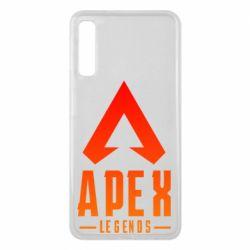 Чохол для Samsung A7 2018 Apex legends gradient logo