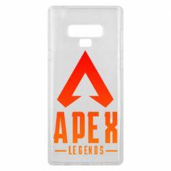 Чохол для Samsung Note 9 Apex legends gradient logo