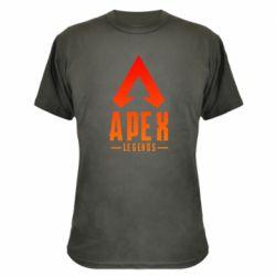 Камуфляжна футболка Apex legends gradient logo