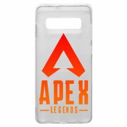 Чохол для Samsung S10+ Apex legends gradient logo