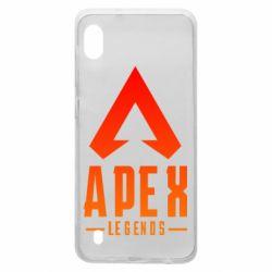 Чохол для Samsung A10 Apex legends gradient logo